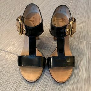 Giuseppe Zanotti heeled T-strap sandal heels